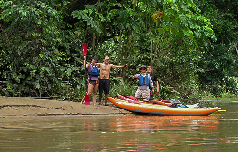 amazon yasuni kayak rainforest